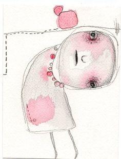 N11.....Original Watercolor Illustration