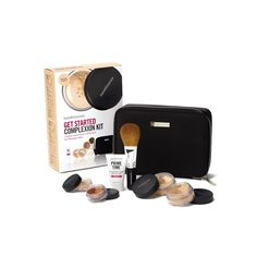 Buy bareMinerals Get Started Complexion Kit - Medium Beige , luxury skincare, hair care, makeup and beauty products at Lookfantastic.com with Free Delivery.
