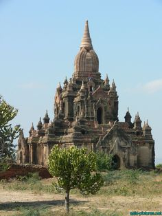 Bagan in Central Myanmar has about 2200 amazing Buddhist temples… Buddha Temple, Buddha Buddhism, Buddhist Monk, Temple Ruins, Bay Of Bengal, Religious Architecture, Temples, Bagan, World Pictures