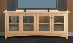 Bookcase and TV Stand Woodworking Plan - gotta pay for plans, but good idea.