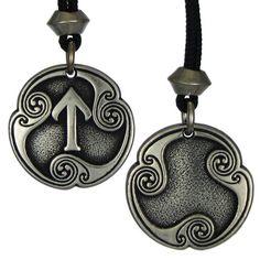 Tir Tiwaz Rune of Victory Talisman Viking Jewelry Asatru Necklace Pagan Wiccan Pendant Viking Symbols, Viking Runes, Wiccan, Pagan, Magick, Les Runes, Viking Culture, Norse Tattoo, Ancient Vikings
