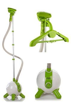 Pod Steamer - Freshen and sanitize clothing, curtains, etc. Retractable pole for compact storage.