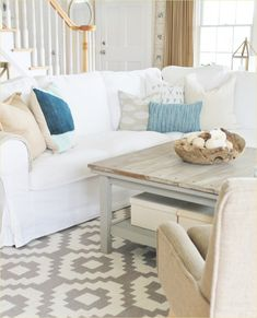 11 Best Blue and Cream living room ideas images | Blue, cream living ...