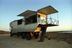 Ultimate bug out vehicle, or deer woods (too high for snakes) with a built in stand