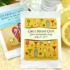 Lemon Drop Martini Favors - available at hotref.com