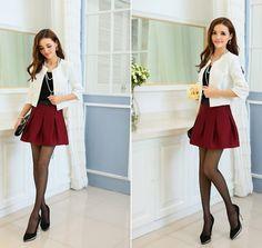 TC000960 Slim autumn Korean style temperament jacket for women