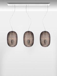 Plass Media Suspension Lamp by Luca Nichetto for Foscarini