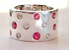 Something about this ring puts me in mind of candy. I am not normally into pink, but I really like this.