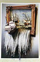 """Наборы для изготовления картин в технике Папертоль """"Море в картине"""""""