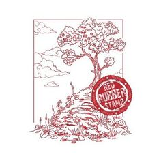 Timbertop Ridge available at Little Miss Muffet Stamps.