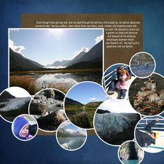 alaska scrapbook layouts | ... Page >> BeckyShaw's Scrapbooks >> Alaskan Cruise (page 2) - Page 1 #scrapbooklayouts