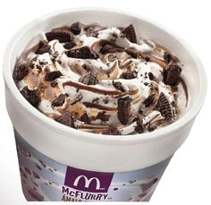 Let a McFlurry be what it is: the world's best dessert