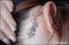 Music Note Tattoos For Girls | tattoowhere.commusic note tattoo design,