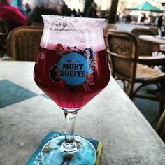 Bière Kriek. #belgique #biere