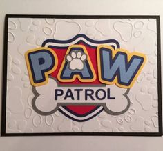 paw patrol thank you cards - Google Search