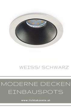 Decken-Einbauspot rund GU10: Einbauspot mit rückversetzten Leuchtmittel für einen besseren Sichtkomfort (keine Blendung) Geeignet für: Wohnzimmer, WC, Diele, Flur, Schlafzimmer, Esszimmer, Kinderzimmer, Küche usw. // #spots beleuchtung decke #spots beleuchtung decke weiss #strahler decke #strahler decke weiss #decke #deckenspots #strahler decke flur #led deckenbeleuchtung spot #strahler wohnzimmer #strahler küche #deckeneinbau #spot #spots #lampen und leuchten