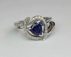 Our diamond rings embrace Romance, Beauty & sparkling Diamond Brilliance. Each diamond ring is delicately created by skilled craftsmanship. Tanzanite Engagement Ring, Designer Engagement Rings, Beautiful Rings, Ring Designs, Diamond Jewelry, Sapphire, Design Inspiration, Pure Products