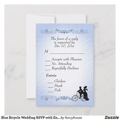 Blue Bicycle Wedding