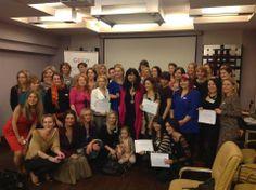 Promocie - oslava vynimocnych zien, ktore ukoncili program Femina Fusion s GIFEW