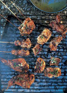 grilled & marinated rabbit (coniglio marinato alla griglia) | Jamie Oliver