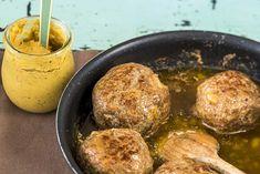 Recept voor ouderwetse gehaktballen met jus.