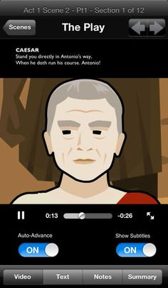 Shakespeare in Bits App (Free) - Standalone Plays can be purchased ...
