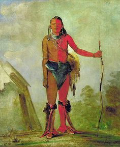 Native American George Catlin Aih-no-wa, The Fire, a Fox Medicine Man Native American Pictures, Native American Artists, Native American History, Native American Indians, John Wayne, Anton, Mystery Of History, American Spirit, Indigenous Art