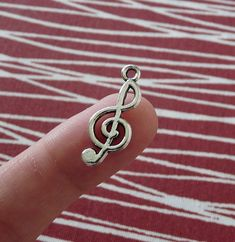 Excited to share the latest addition to my #etsy shop: Music Note Charms, Antique Silver Treble Clef Charms, Treble Clef Pendants, Music Note Pendants, Necklace Charms, Bracelet Charms http://etsy.me/2AgyN3d