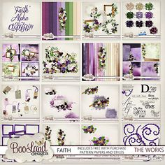 Faith The Complete Works by #Booland Designs available at #digitalscrapbookingstudios