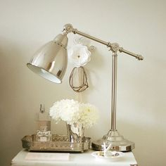 Vintage style lamp, perfect for bedside...