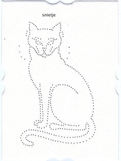 Cat Tin Punch Pattern