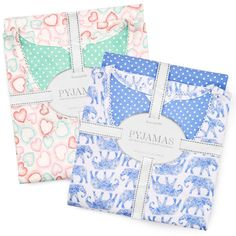 The Perfect Pyjama Gift Sets There's nothing Mum loves more than a fresh pair of pyjamas! Designed with comfort and cosiness in mind, these PJ's will be sure to bring her the feeling of relaxation she deserves. In a variety of different colours and prints, there's a perfect pair for everyone in our nightwear collection. Beautifully packaged and sealed with a ribbon, these pretty pairs make ideal gifts. Plus, at amazing prices starting from just £12, these are presents that won't break the…