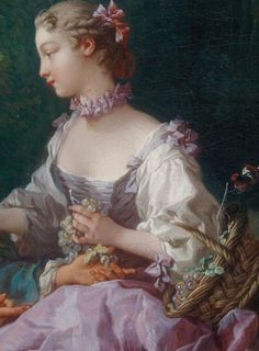 François Boucher    French, 1703–1770    Are They Thinking about the Grape? (Pensent-ils au raisin?), 1747    Oil on canvas