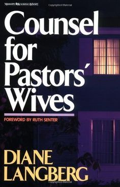 Counsel for Pastors' Wives by Diane Langberg, http://www.amazon.com/dp/0310376211/ref=cm_sw_r_pi_dp_hD79rb0SQJGQM
