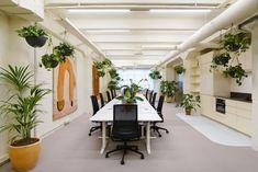 Kvistad completed the design for digital studio, Bakken & Bæck, located in Amsterdam, the Netherlands. Bakken & Bæck Amsterdam is indeed a yellow