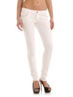 Guess Starlet Skinny Leg White Jeans 27