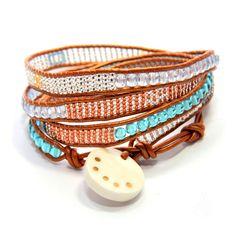 Sasa Designs - Moraa Wrap bracelet Stori