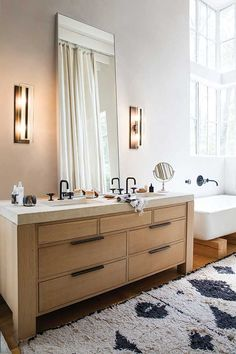 43 bathroom interior design ideas for your home. Interior design is the most interesting concept that is subject of much enjoyment for home owners and home builders. If you like playing with floors, c. Bronze Bathroom, Bathroom Wall Sconces, Modern Bathroom, Bathroom Lighting, Light Bathroom, Bathroom Cabinets, Beautiful Bathrooms, Master Bathroom, Marble Interior