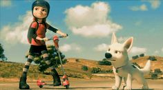 Penny-Bolt  Disney - She reminds ME OF Ellie from tLoU idk she just DOES