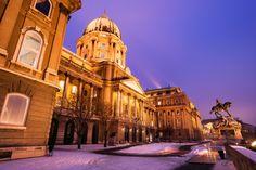 Budapest es mágica con nieve, descúrbrela en Navidad