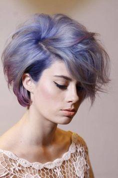 unique color short haircuts for women - http://hairstylee.com/unique-color-short-haircuts-for-women/?Pinterest