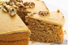 Receita de Bolo de nozes com recheio de doce de leite em receitas de bolos, veja essa e outras receitas aqui!