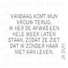 Afwas. Ja Duh! #humor #tekst #Nederlands #Facebook #grappig #man #vrouw #huwelijk