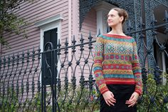 Anatolia by Dayana Knits - Pattern from Rowan Magazine 54 (British knitting/crochet), by Marie Wallin, in 7 colors of Rowan Felted Tweed DK. Ravelry: http://www.ravelry.com/projects/dayana/anatolia
