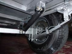 Extreme Off-Road Travel Trailer suspension