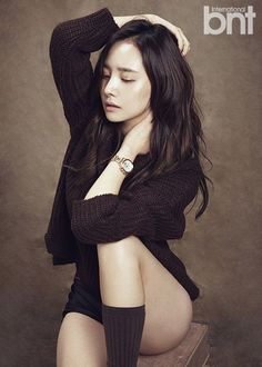 "Dal Shabet Member Woohee Poses for ""International bnt"" 