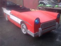 GREASE LIGHTNING CAR, STAGE PROP, THEATRE SCENERY, CLASSIC, AMERICAN, PLAY,MODEL (04/26/2012)