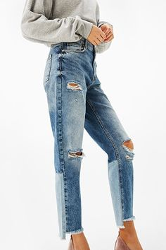 Trend Alert: Two-Tone Denim | sheerluxe.com