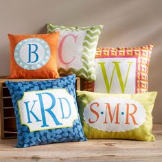 ArtMinds® Monogram Pillows