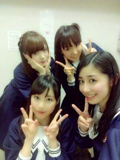乃木坂46 (nogizaka46) Shiraishi Mai (白石麻衣) Nakamoto Himeka (中元日芽香) Ikuta Erika (生田絵梨花) Saito Chiharu (斎藤ちはる)